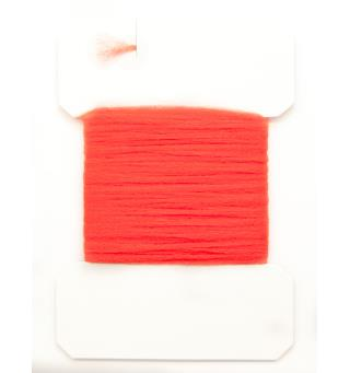 Antron Yarn Carded - Fl. Fire Orange