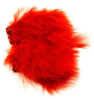Marabou Blood Quill - Red
