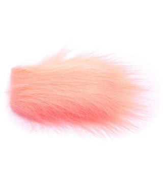Craft Fur - Salmon Pink Teppegris-fargen