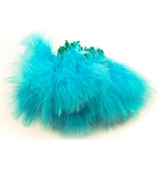 Marabou Blood Quill - Fl. Blue