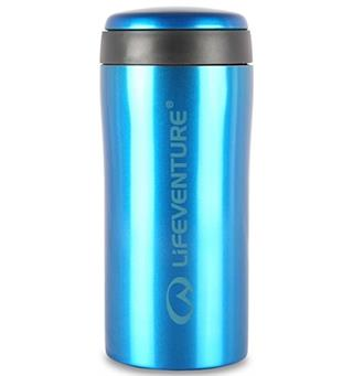 Lifeventure Thermal Mug - Blue Holder på varmen i opptil 4 timer!
