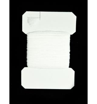 Polyyarn card - White