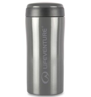 Lifeventure Thermal Mug - Tungsten Holder på varmen i opptil 4 timer!