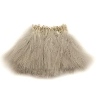 Marabou Blood Quill - Pearl Grey