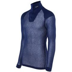 Brynje Super Thermo Zip Polo Navy S Super Thermo med innlegg