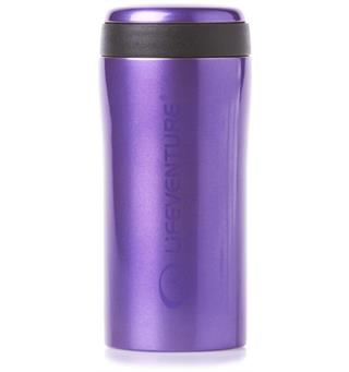 Lifeventure Thermal Mug - Purple Holder på varmen i opptil 4 timer!