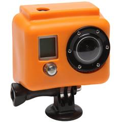 XSories Silicone Cover Skins Orange Silikonbeskyttelse til GoPro