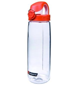 Nalgene On the fly klar m/Orange cap Drikkeflaske 0,65 liter