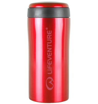 Lifeventure Thermal Mug - Red Holder på varmen i opptil 4 timer!