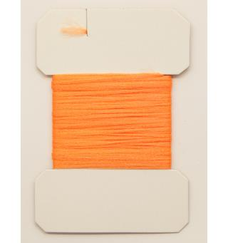 Antron Yarn Carded - Fl. Orange