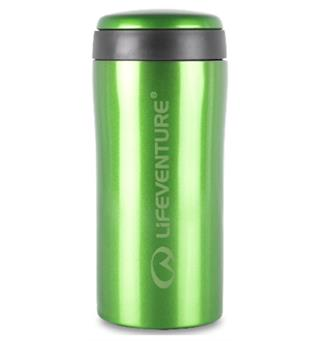 Lifeventure Thermal Mug - Green Holder på varmen i opptil 4 timer!