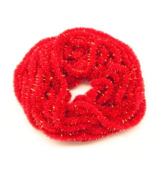 Crystal Antron Chenille str. S - Red