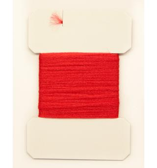Antron Yarn Carded - Red
