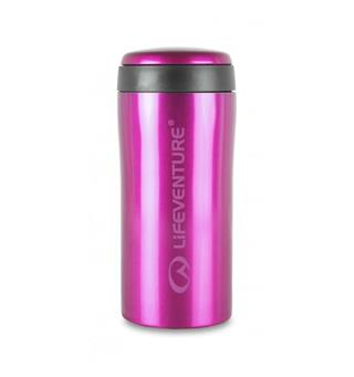 Lifeventure Thermal Mug - Pink Holder på varmen i opptil 4 timer!