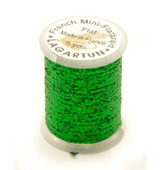 Lagartun Mini-Flatbraid - Green