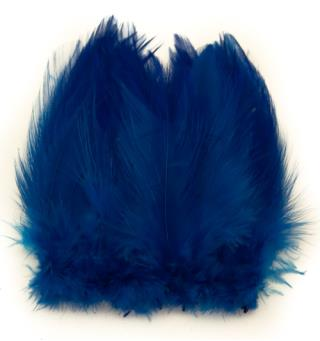 Cock Hackles - Peacock Blue