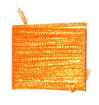 Lagartun Flatbraid - Fluo Orange 5mm bred