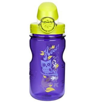 Nalgene Minigrip On The Fly Lilla HOOT Drikkeflaske til barn 0,375 liter