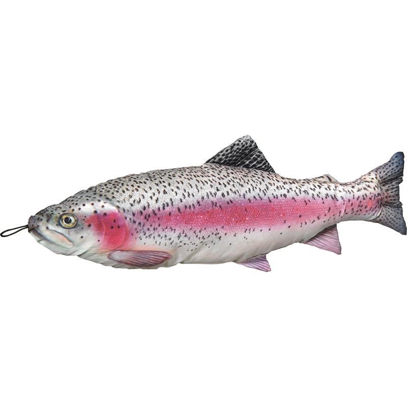 Fladen kosedyr Regnbueørrret 65cm Herlige kosedyr for ekte fiskere