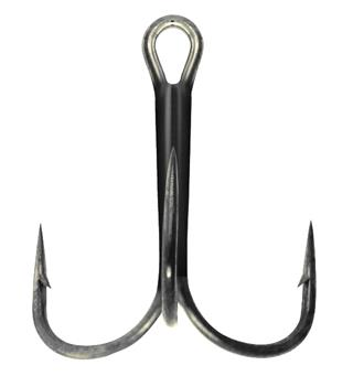 Mustad TR58NP-BN Treblekrok Ultra Point black/nick treblekrok - 6stk