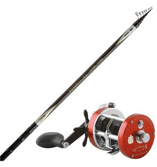 Beastmaster Tele 20' 20-110g/Amb Salmon Stang+snelle