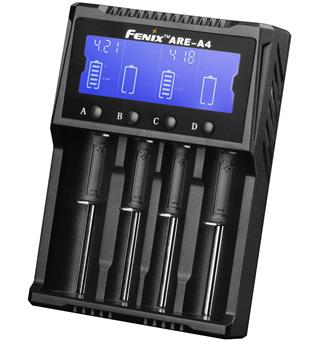 Fenix ARE-A4 Batterilader Smart 4-kanals lader