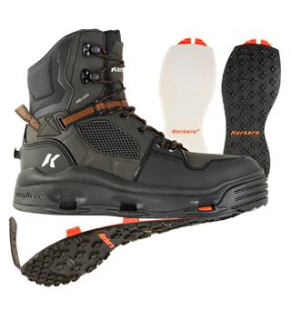 Korkers Terror Ridge Boot Felt & Kling-On Sole