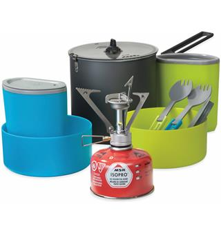 MSR PocketRocket Stove Kit Matlagning og spisesett for 2 personer