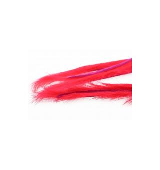 Rabbit Strips S-Cut 3mm. - Fluor Red The Fly Co