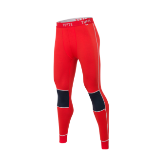 Tufte Bambull Long Johns Longs L High Risk Red/Blueberry - herre