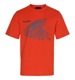 FutureFly Basic Line t-shirt  XXL Orange