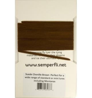 Semperfli Suede Chenille Brown