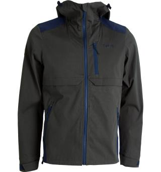 Tufte Mens Jacket M Deep Forest/InsigniaBlue