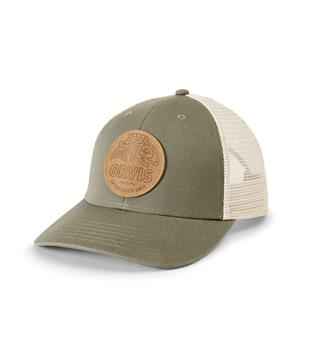 Orvis Cap Leather Patch One size