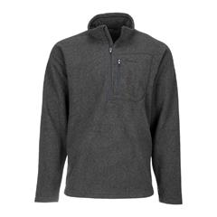 Simms Rivershed Quarter Zip Carbon S