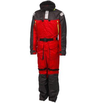 Kinetic Guardian Flotation Suit XL Flytedress - Red/Stormy