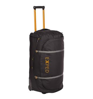 Exped Stellar Duffel 100 L Black Vanntett bag m/ hjul