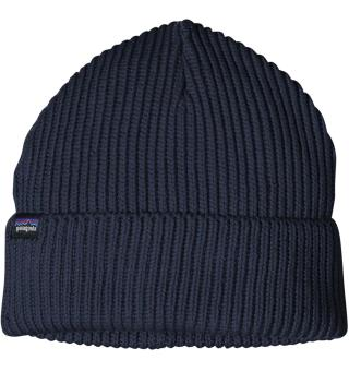 Patagonia Fishermans Rolled Beanie Navy Blue, One Size