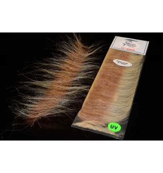 EP Craft Fur Brush Sand/Brown Enrico Puglisi