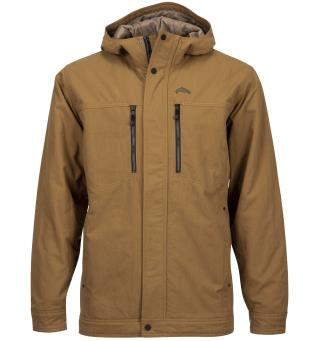 Simms Dockwear Hooded Jacket Dark Bronze M
