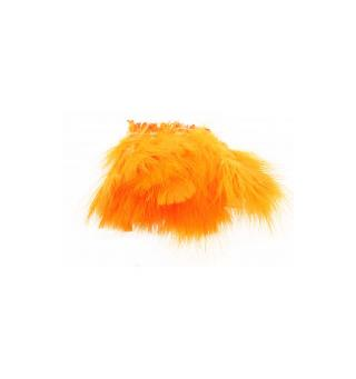 Marabou Blood Quill Fl. Orange