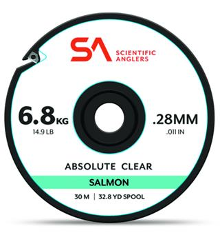 SA Absolute Salmon Tippet 30m