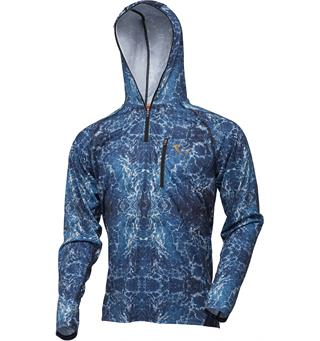 Savage Gear Savage Salt UV Hoodie Solbeskyttende hettegenser