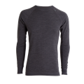 Tufte Bambull Crew Neck XL Dark Grey Melange/Forged Iron - herre