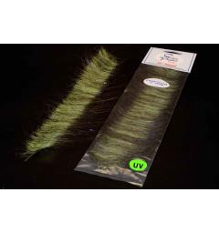 EP Craft Fur Brush Olive/Chartreuse Enrico Puglisi