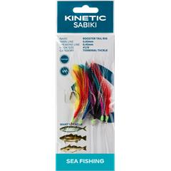 Kinetic Sabiki Rooster Tail #2/0 Multi Color