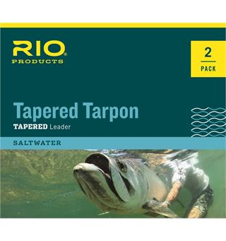 Rio Tarpon Tapered Leader 12ft. Fluorocarbon - 2 pk.