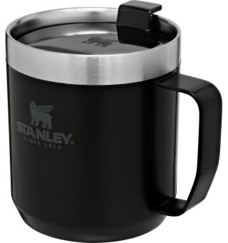 Stanley Camp Mug Matte Black Robust termokopp