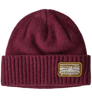 Patagonia Brodeo Beanie Chicory Red One Size