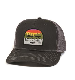 SA Hat Trout Patch Dark Grey One size